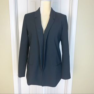 Halogen Black Basic One Button Blazer Size SP